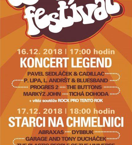 Československý beat-festival (Starci na chmelnici) - 17.12.2018