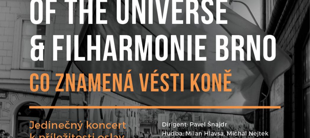 Co znamená vésti koně - The Plastic People of the Universe a Filharmonie Brno - Lanškroun - 8.11.2019