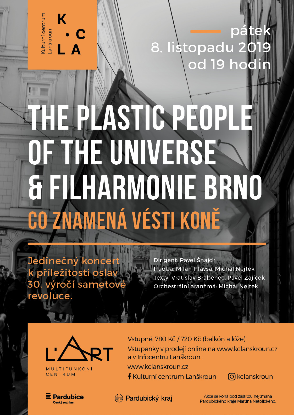 Co znamená vésti koně - The Plastic People of the Universe a Filharmonie Brno - Lanškroun - 8.11.2019